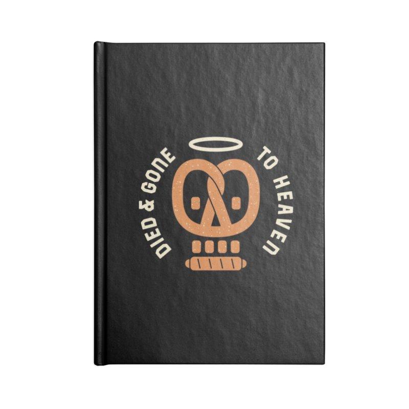 Pretzel Heaven Accessories Notebook by AuntieAnnes's Artist Shop