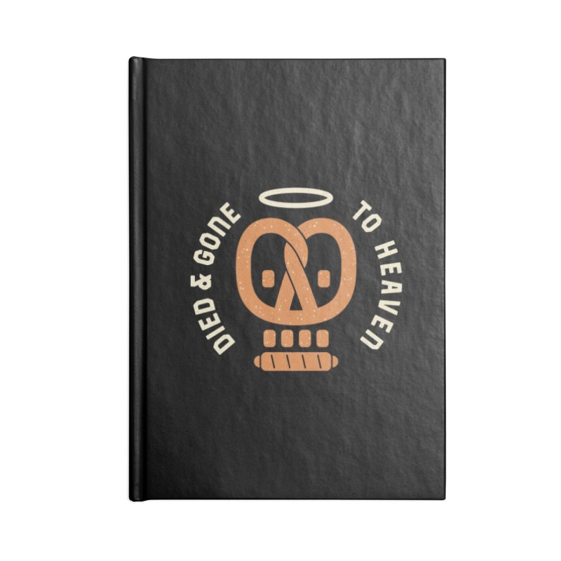 Pretzel Heaven Accessories Notebook by AuntieAnne's Artist Shop