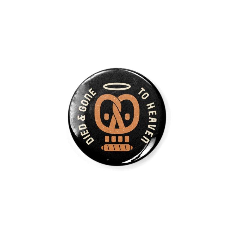 Pretzel Heaven Accessories Button by AuntieAnne's Artist Shop