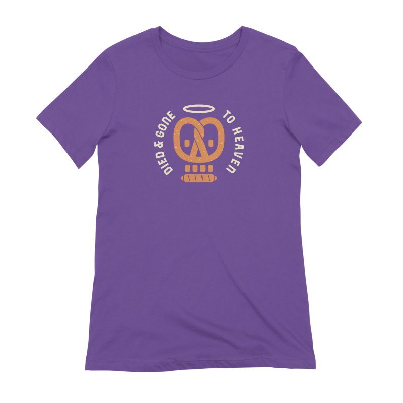 Pretzel Heaven Women's Extra Soft T-Shirt by AuntieAnne's Artist Shop