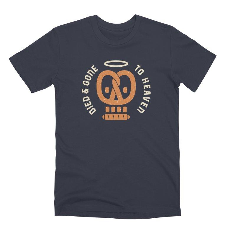Pretzel Heaven Men's Premium T-Shirt by AuntieAnne's Artist Shop