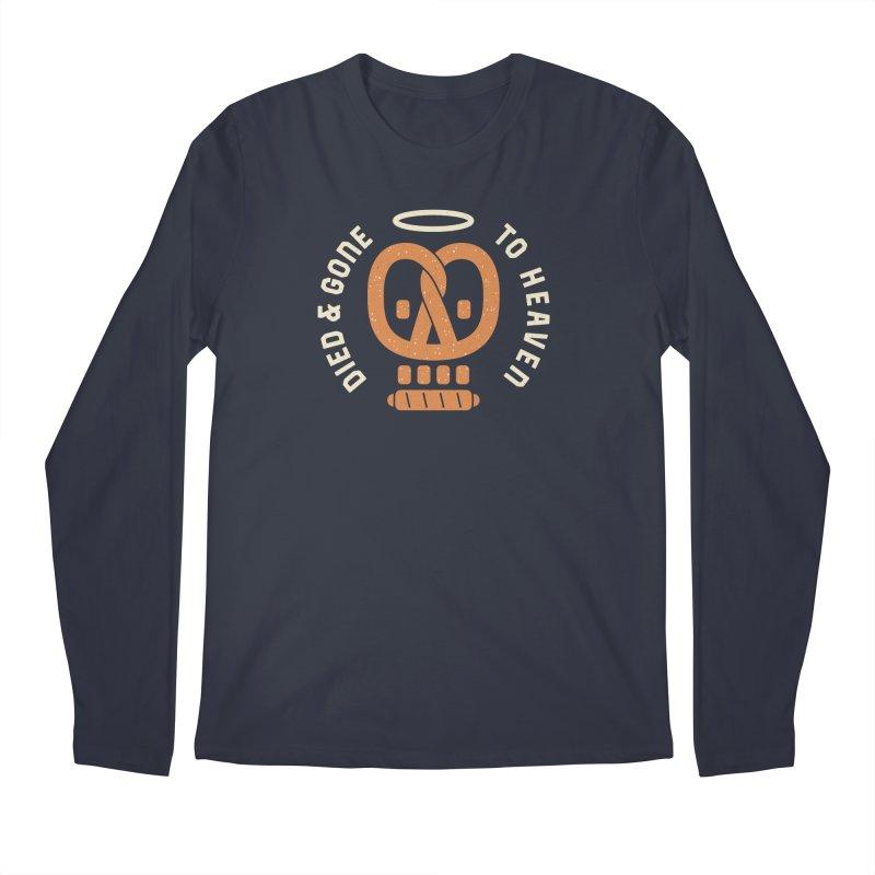 Pretzel Heaven Men's Regular Longsleeve T-Shirt by AuntieAnne's Artist Shop