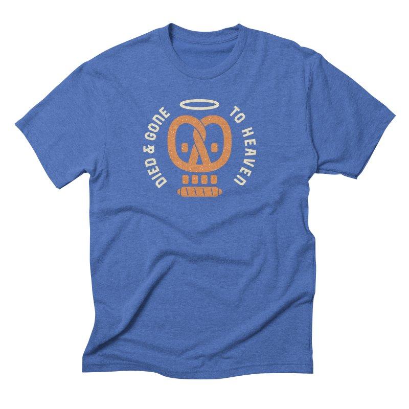 Pretzel Heaven Men's Triblend T-Shirt by AuntieAnne's Artist Shop