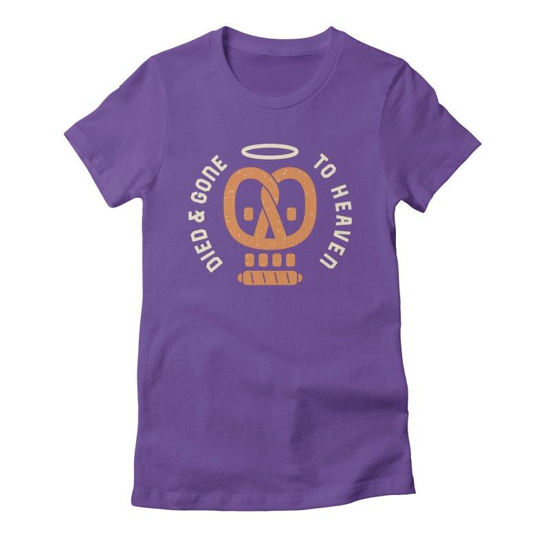 Pretzel Heaven Women's Fitted T-Shirt by AuntieAnne's Artist Shop