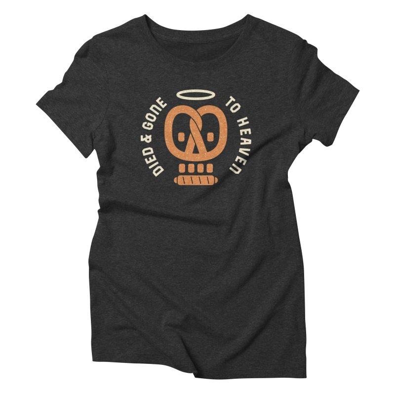 Pretzel Heaven Women's Triblend T-Shirt by AuntieAnne's Artist Shop