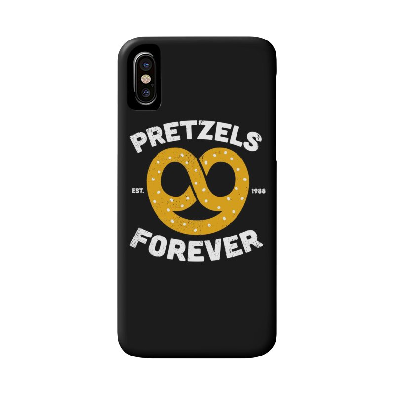 Pretzels Forever Accessories Zip Pouch by AuntieAnne's Artist Shop