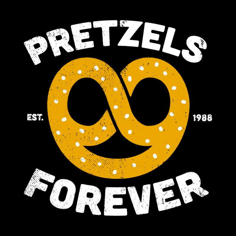 Pretzels Forever Men's Zip-Up Hoody by AuntieAnne's Artist Shop