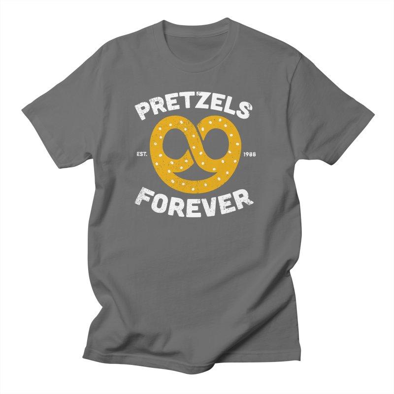 Pretzels Forever Men's T-Shirt by AuntieAnne's Artist Shop