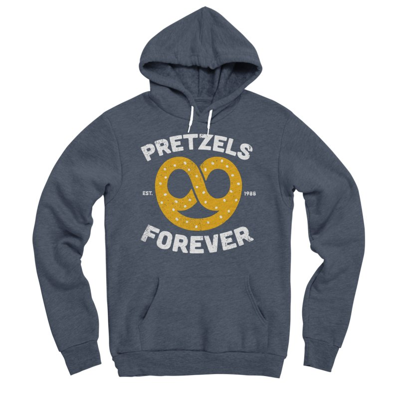 Pretzels Forever Men's Pullover Hoody by AuntieAnne's Artist Shop