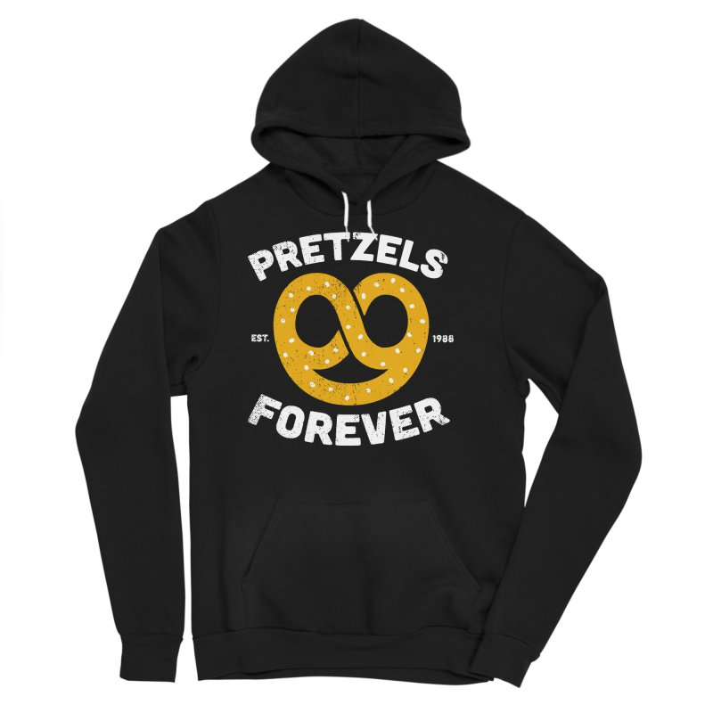 Pretzels Forever Men's Sponge Fleece Pullover Hoody by AuntieAnne's Artist Shop