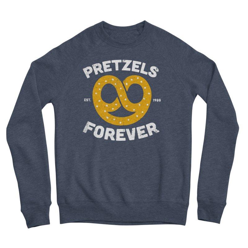 Pretzels Forever Women's Sponge Fleece Sweatshirt by AuntieAnne's Artist Shop