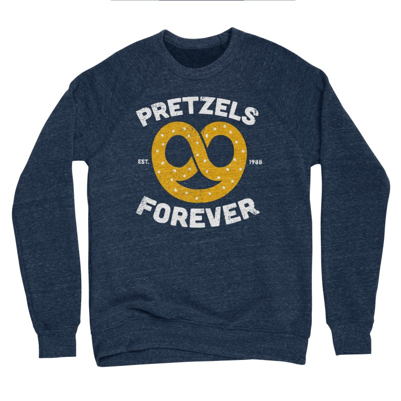 Pretzels Forever Men's Sponge Fleece Sweatshirt by AuntieAnne's Artist Shop