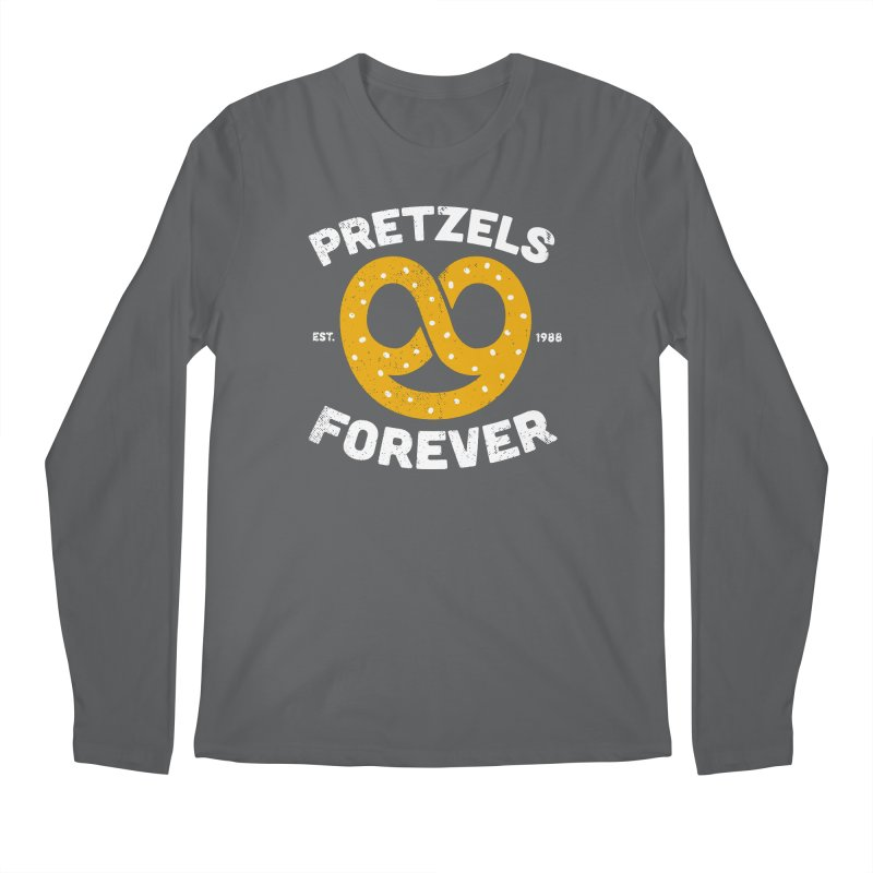 Pretzels Forever Men's Longsleeve T-Shirt by AuntieAnne's Artist Shop