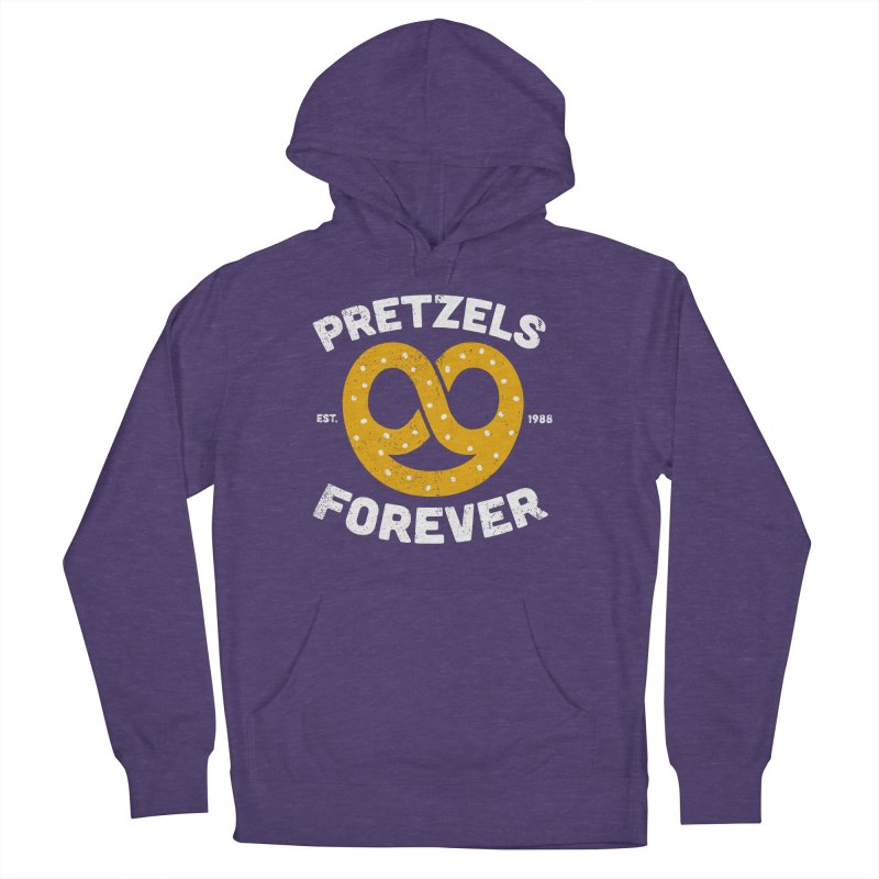 Pretzels Forever Men's French Terry Pullover Hoody by AuntieAnne's Artist Shop