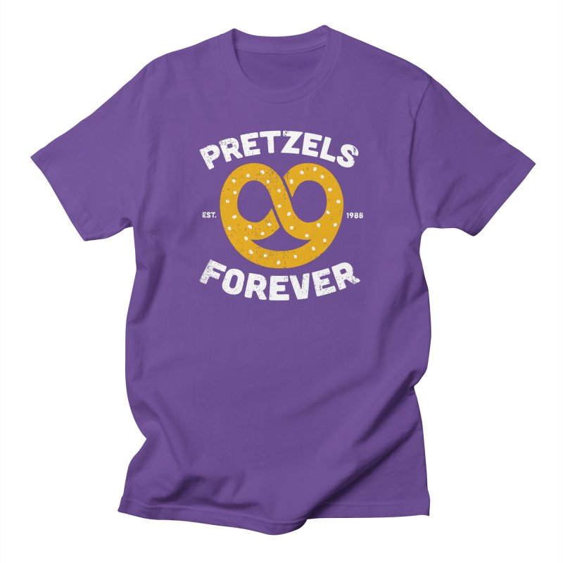 Pretzels Forever Women's Regular Unisex T-Shirt by AuntieAnne's Artist Shop