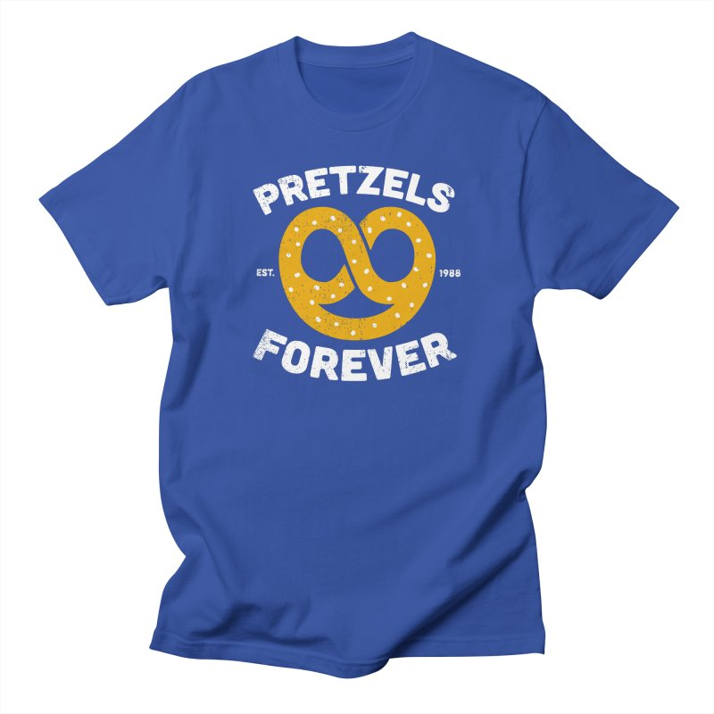 Pretzels Forever Men's Regular T-Shirt by AuntieAnne's Artist Shop