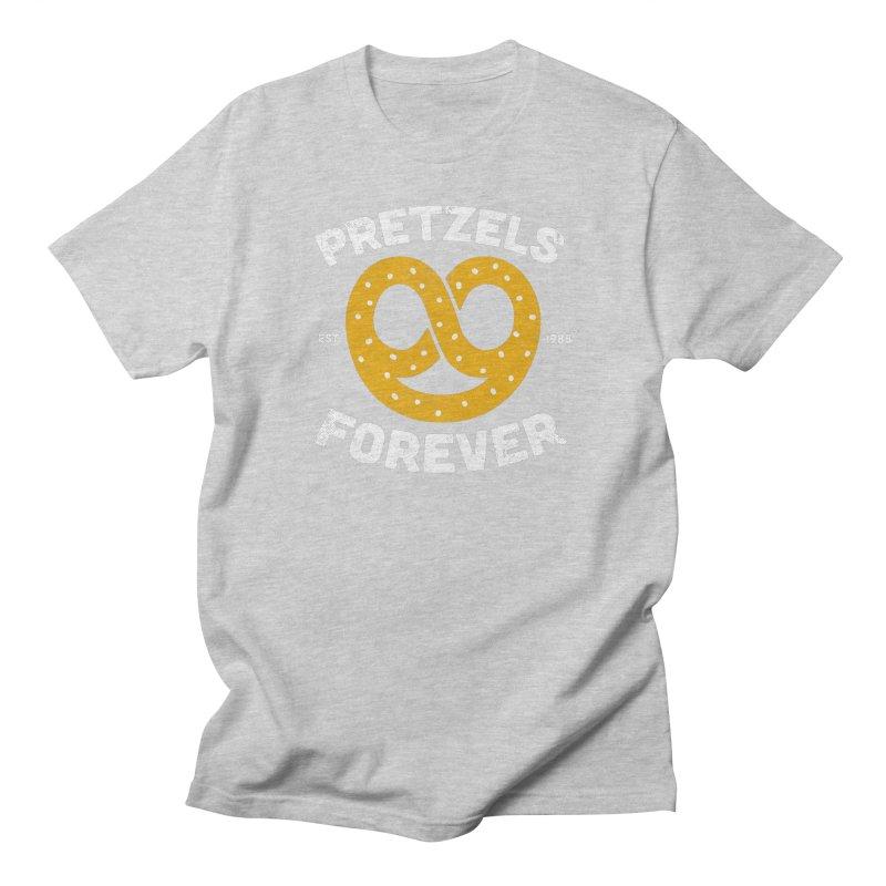 Pretzels Forever Men's Regular T-Shirt by AuntieAnne's Artist Shop