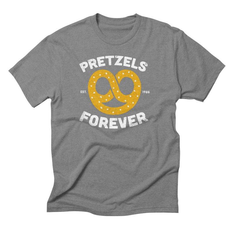 Pretzels Forever Men's Triblend T-Shirt by AuntieAnne's Artist Shop