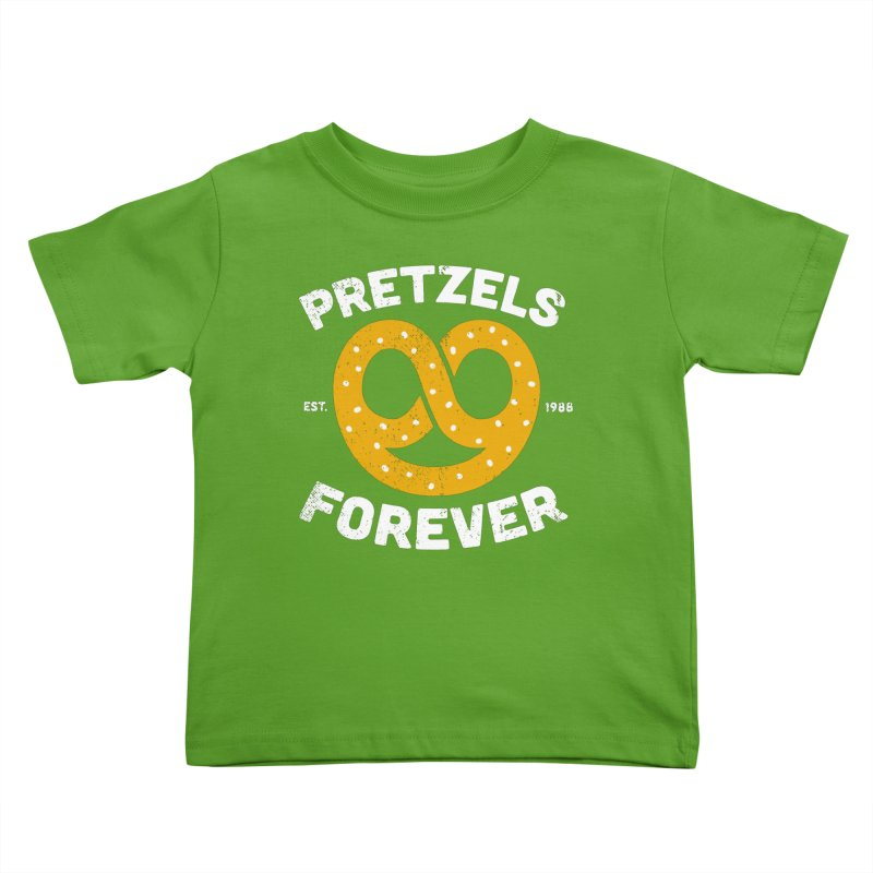 Pretzels Forever Kids Toddler T-Shirt by AuntieAnne's Artist Shop