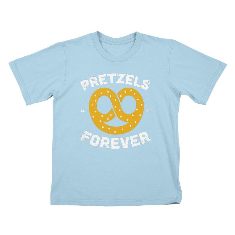 Pretzels Forever Kids T-Shirt by AuntieAnne's Artist Shop