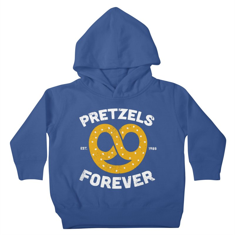 Pretzels Forever Kids Toddler Pullover Hoody by AuntieAnnes's Artist Shop