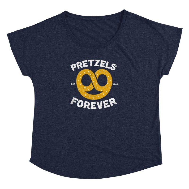 Pretzels Forever Women's Scoop Neck by AuntieAnne's Artist Shop