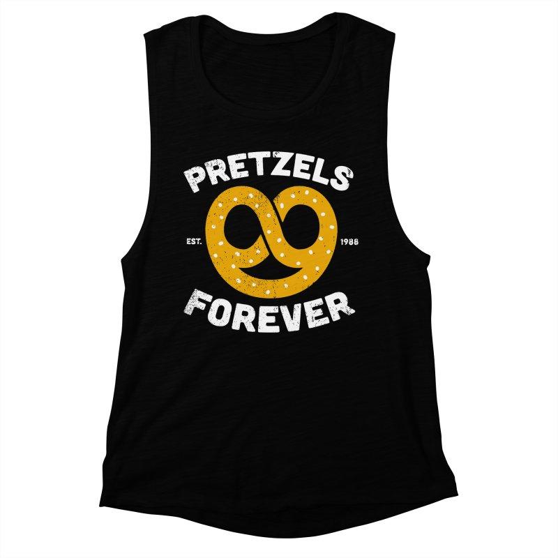 Pretzels Forever Women's Muscle Tank by AuntieAnne's Artist Shop