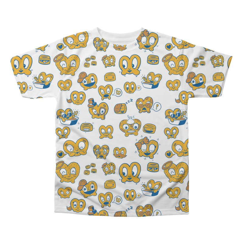 A Pretzel For Everyone! in Men's Regular All Over Print by AuntieAnne's Artist Shop