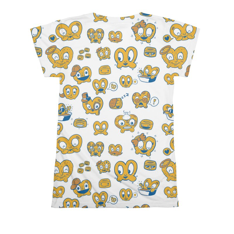 A Pretzel For Everyone! Women's All Over Print by AuntieAnne's Artist Shop