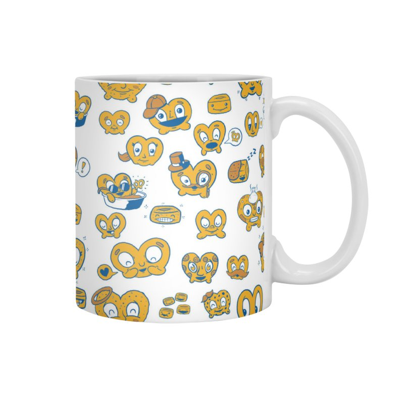 A Pretzel For Everyone! Accessories Mug by AuntieAnne's Artist Shop