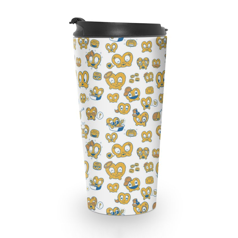 A Pretzel For Everyone! Accessories Travel Mug by AuntieAnne's Artist Shop