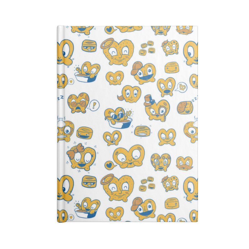 A Pretzel For Everyone! Accessories Notebook by AuntieAnnes's Artist Shop