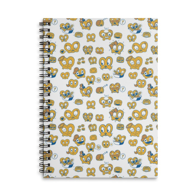 A Pretzel For Everyone! Accessories Lined Spiral Notebook by AuntieAnne's Artist Shop
