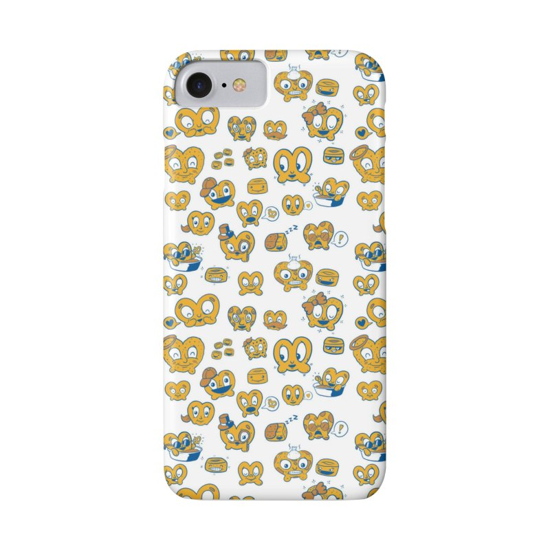 A Pretzel For Everyone! in iPhone 8 Phone Case Slim by AuntieAnne's Artist Shop