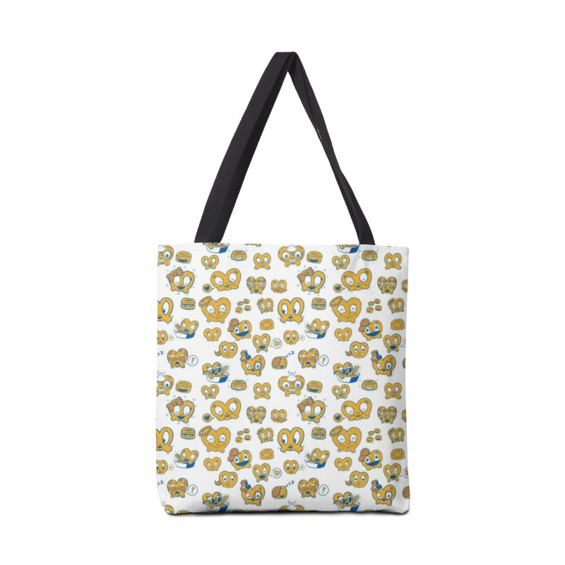 A Pretzel For Everyone! Accessories Bag by AuntieAnne's Artist Shop