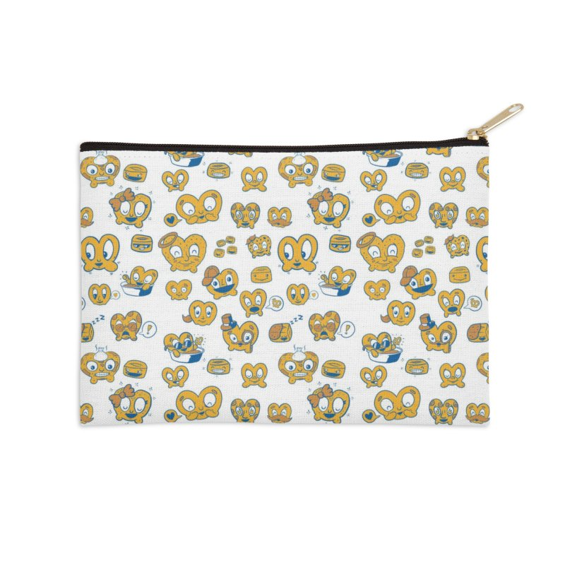 A Pretzel For Everyone! Accessories Zip Pouch by AuntieAnne's Artist Shop