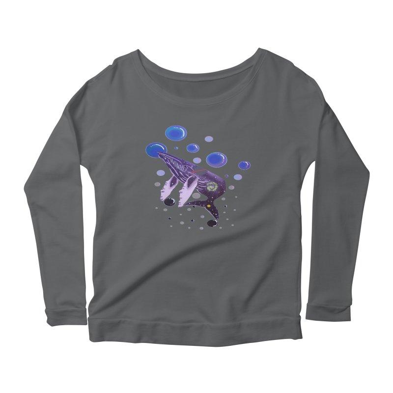 Whale hello! Women's Longsleeve T-Shirt by Melanin Auntie
