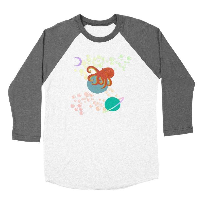 Kenticle the Octopus! Women's Longsleeve T-Shirt by Melanin Auntie