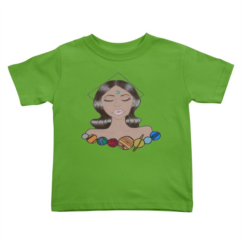 Kellianne  Kids Toddler T-Shirt by Melanin Auntie
