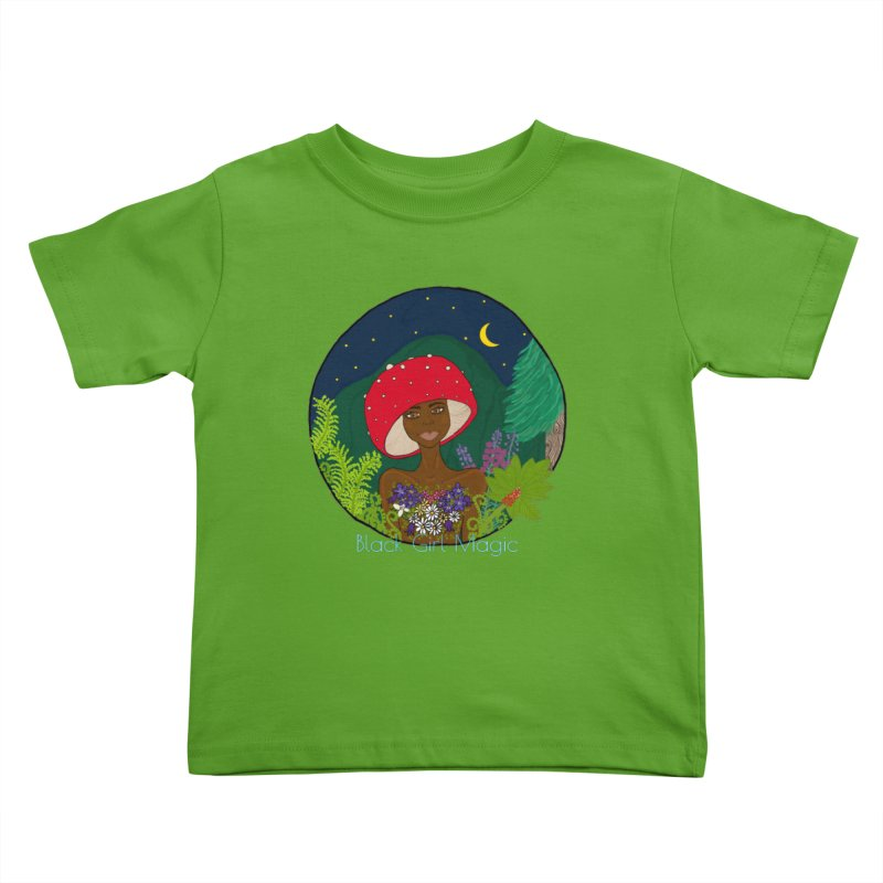 Alannah Kids Toddler T-Shirt by Melanin Auntie