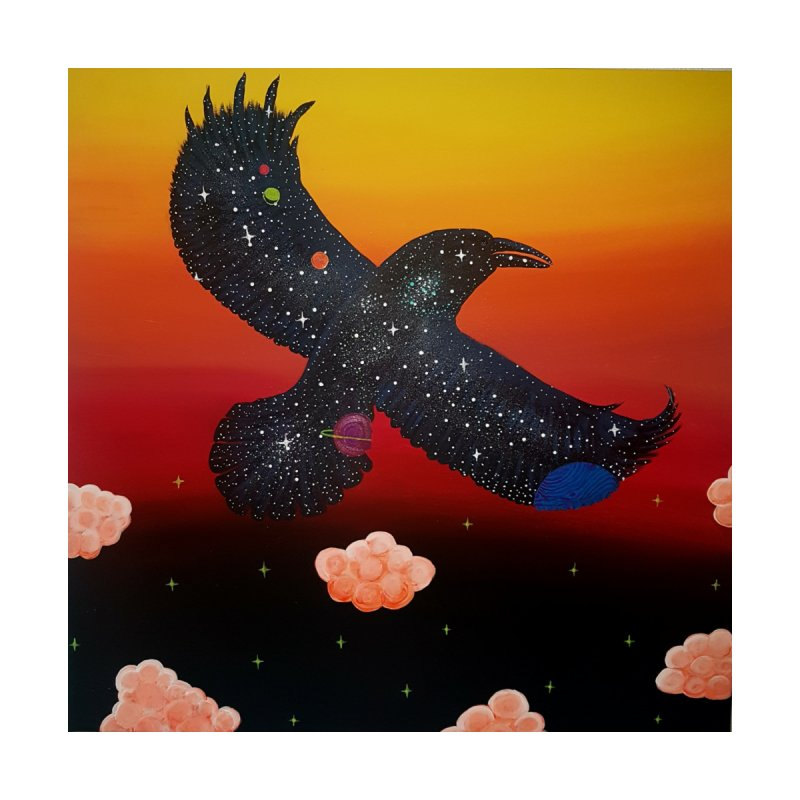 Raven Home Duvet by Melanin Auntie