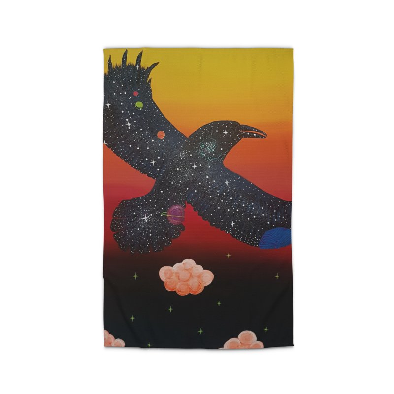 Raven Home Rug by Melanin Auntie