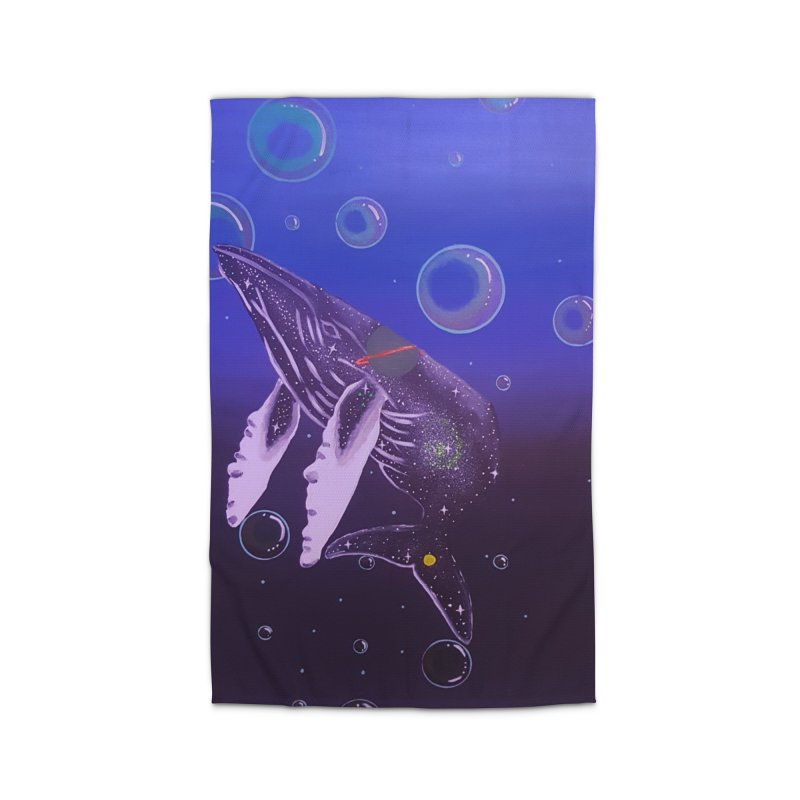 The Whale Home Rug by Melanin Auntie