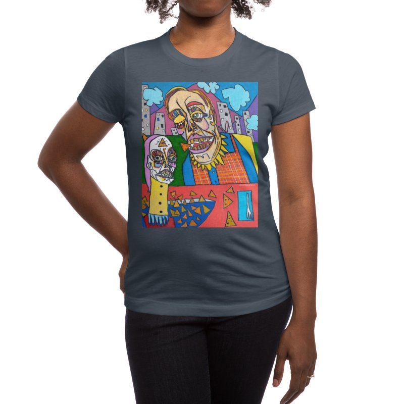 These Chips Don't Lie Women's T-Shirt by Auntyskelator's Artist Shop