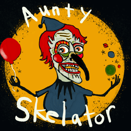 Logo for Auntyskelator's Artist Shop