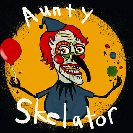 Logo for Auntyskelator's Artist Shop