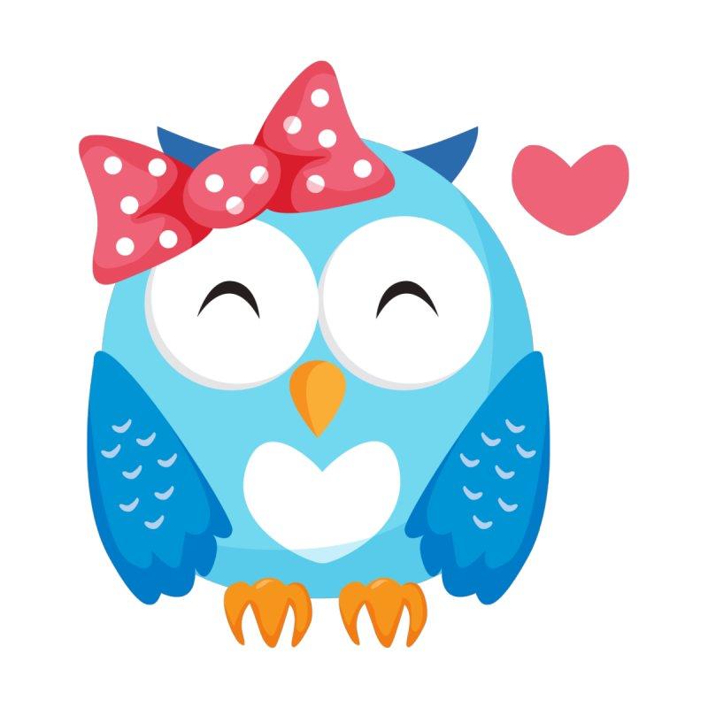 Cute Eye Close Pink Bow Blue Owl T Shirt by Aura Designs | Funny T shirt, Sweatshirt, Phone ca