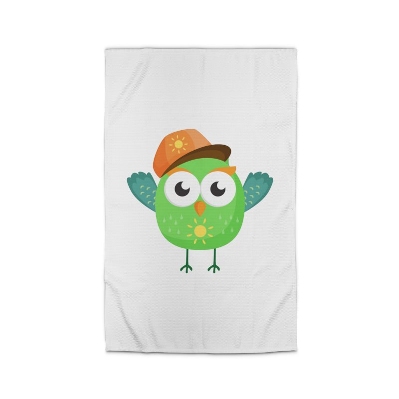 Green Owl with Sun on Hat T Shirt Home Rug by Aura Designs   Funny T shirt, Sweatshirt, Phone ca