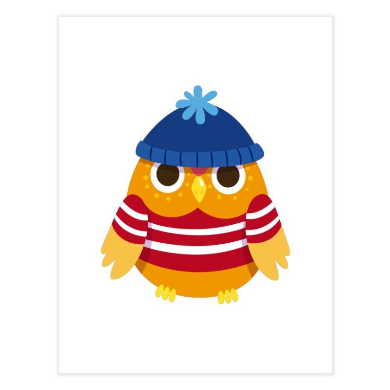 Owl Home Fine Art Print by Aura Designs | Funny T shirt, Sweatshirt, Phone ca