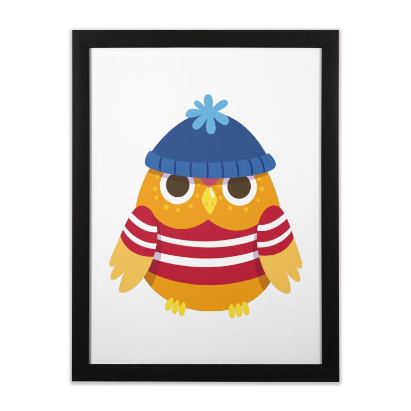 Owl Home Framed Fine Art Print by Aura Designs | Funny T shirt, Sweatshirt, Phone ca